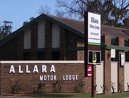Allara Motor Lodge - Accommodation Gold Coast