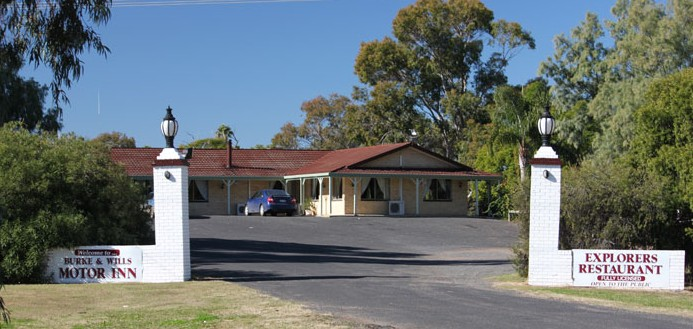 Burke and Wills Motor Inn - Moree - Accommodation Gold Coast