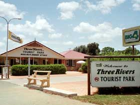 Mundubbera Three Rivers Tourist Park - Accommodation Gold Coast