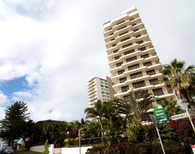 Ocean Royale Apartments - Accommodation Gold Coast