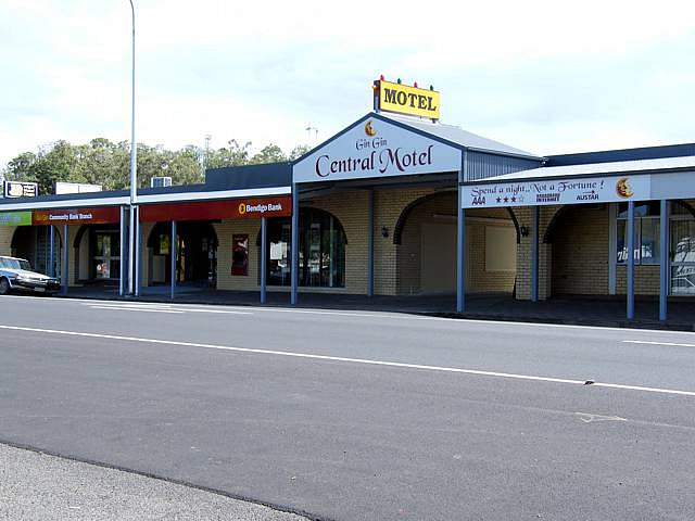 Gin Gin Central Motel - Accommodation Gold Coast