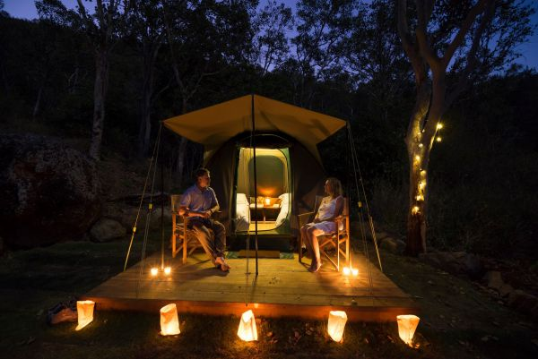 Keswick Island Camping and Glamping - Accommodation Gold Coast