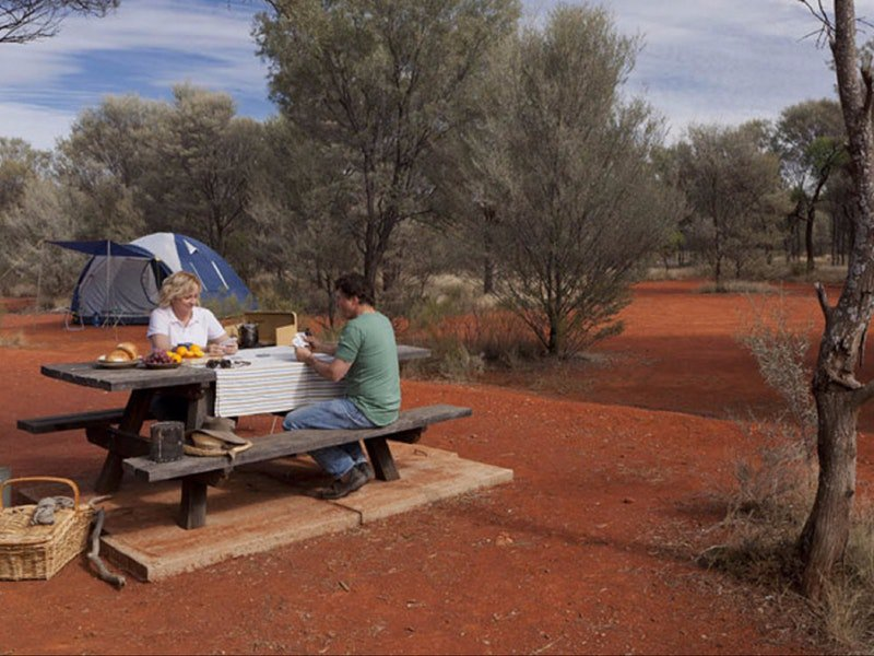Dry Tank campground - Accommodation Gold Coast