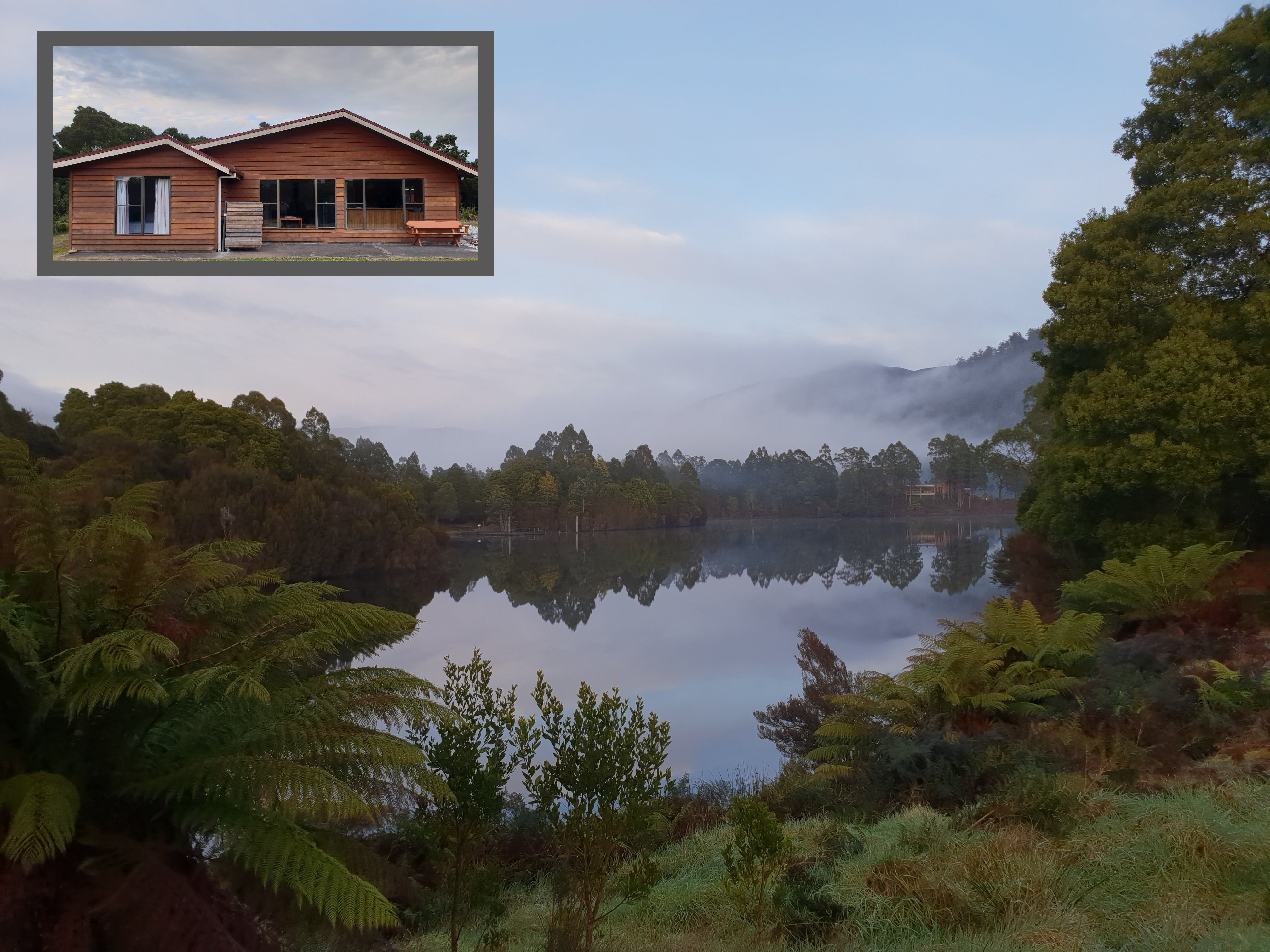 Tullah HideAway - Lakeside  Mountain Views - Accommodation Gold Coast