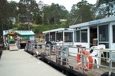 Clyde River Houseboats - Accommodation Gold Coast
