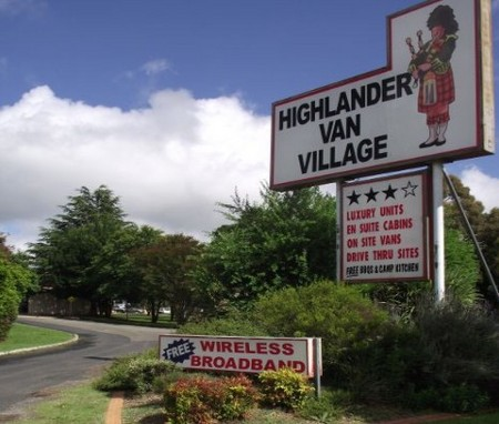 Highlander Van Village - Accommodation Gold Coast