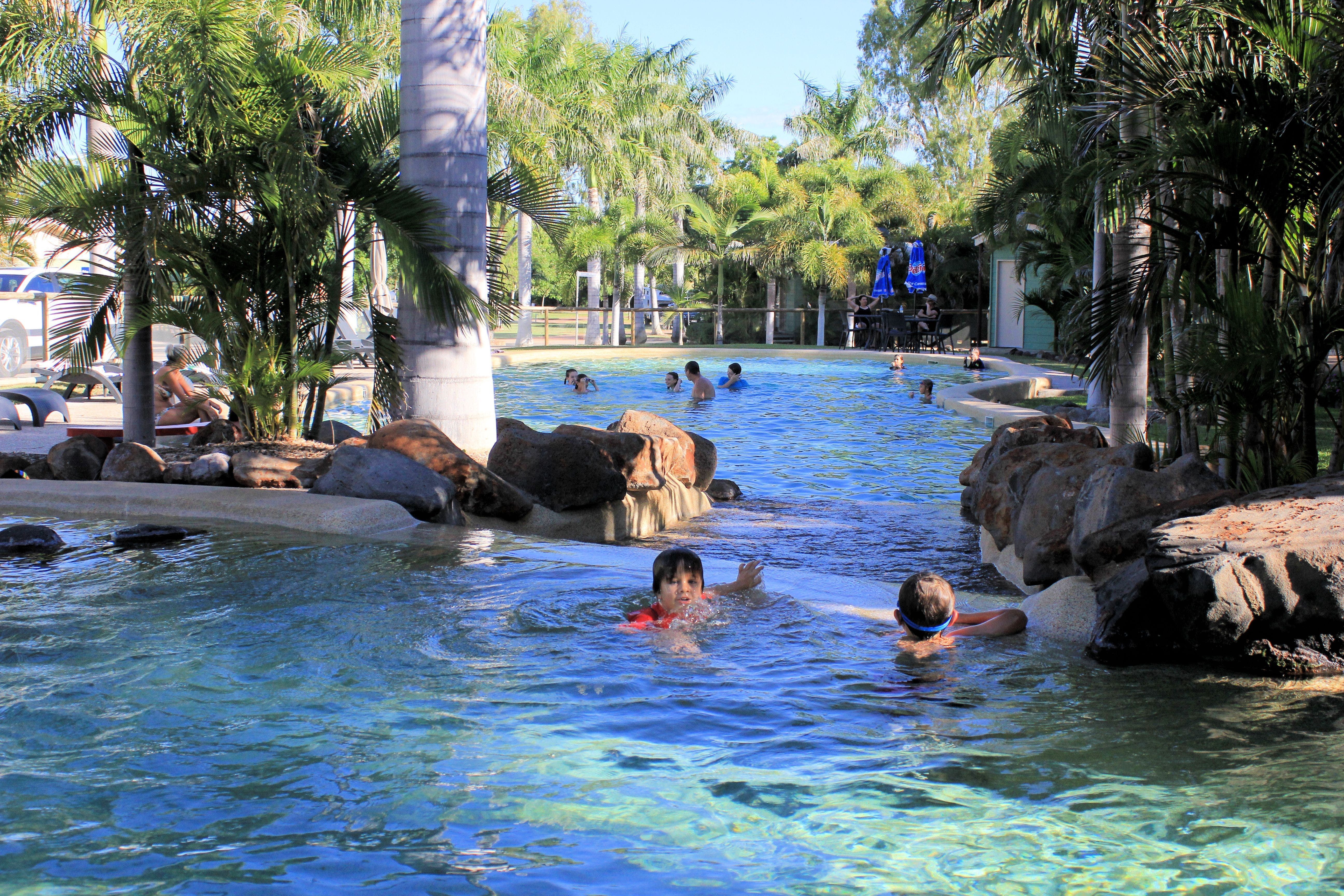 Big4 Aussie Outback Oasis Holiday Park - Accommodation Gold Coast