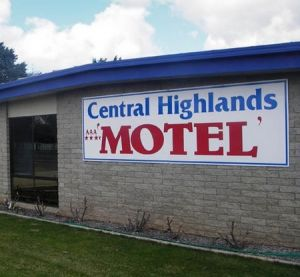 Central Highlands Motor Inn - Accommodation Gold Coast