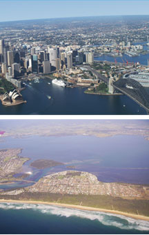 Sydney By Air - Accommodation Gold Coast