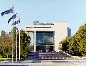 High Court of Australia Parkes Place - Accommodation Gold Coast