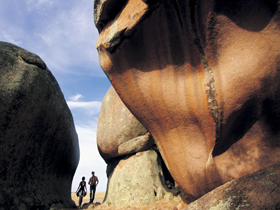 Murphy's Haystacks - Ancient Granite Rock - Accommodation Gold Coast