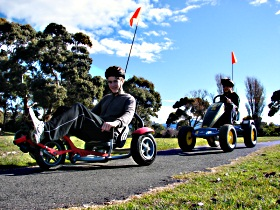 Pedal Buggies Tasmania - Accommodation Gold Coast
