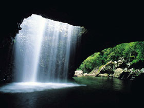 Natural Bridge Springbrook National Park - Accommodation Gold Coast