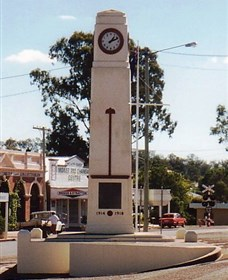 Goomeri War Memorial Clock - Accommodation Gold Coast