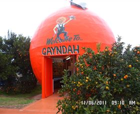 Gayndahs Big Orange - Accommodation Gold Coast