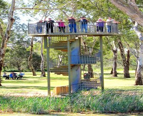 Darling and Murray River Junction and Viewing Tower - Accommodation Gold Coast