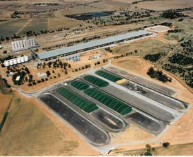 Co-operative Bulk Handling CBH Wheat Storage and Transfer Depot - Accommodation Gold Coast