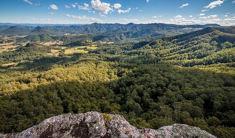 Flat Rock lookout - Accommodation Gold Coast