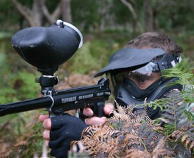 Tactical Paintball Games - Accommodation Gold Coast