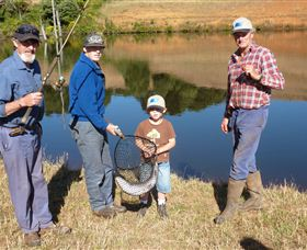 Natone Hills Fly Fishery - Accommodation Gold Coast