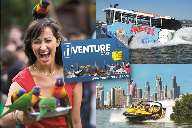 Gold Coast Attraction Pass Including Currumbin Wildlife Sanctuary and Paradise Jetboating - Accommodation Gold Coast