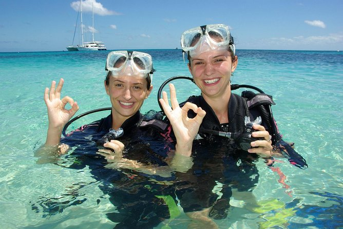 Ocean Spirit Michaelmas Cay Dive and Snorkel Cruise from Palm Cove - Accommodation Gold Coast
