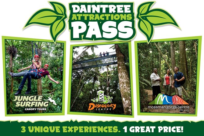 Daintree Atttractions Pass The Best of the Daintree in a Day - Accommodation Gold Coast