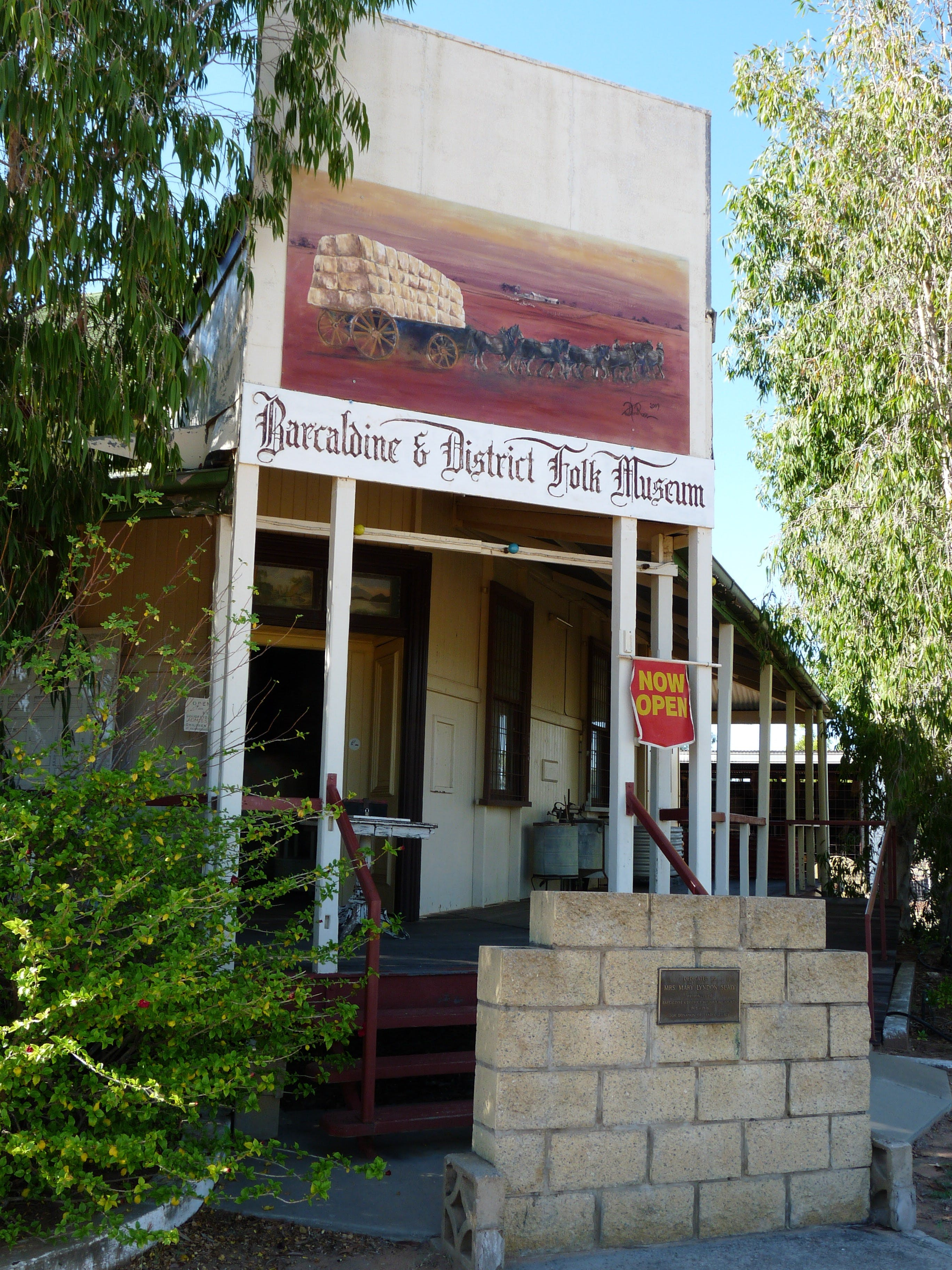 Barcaldine and District Historical Museum - Accommodation Gold Coast