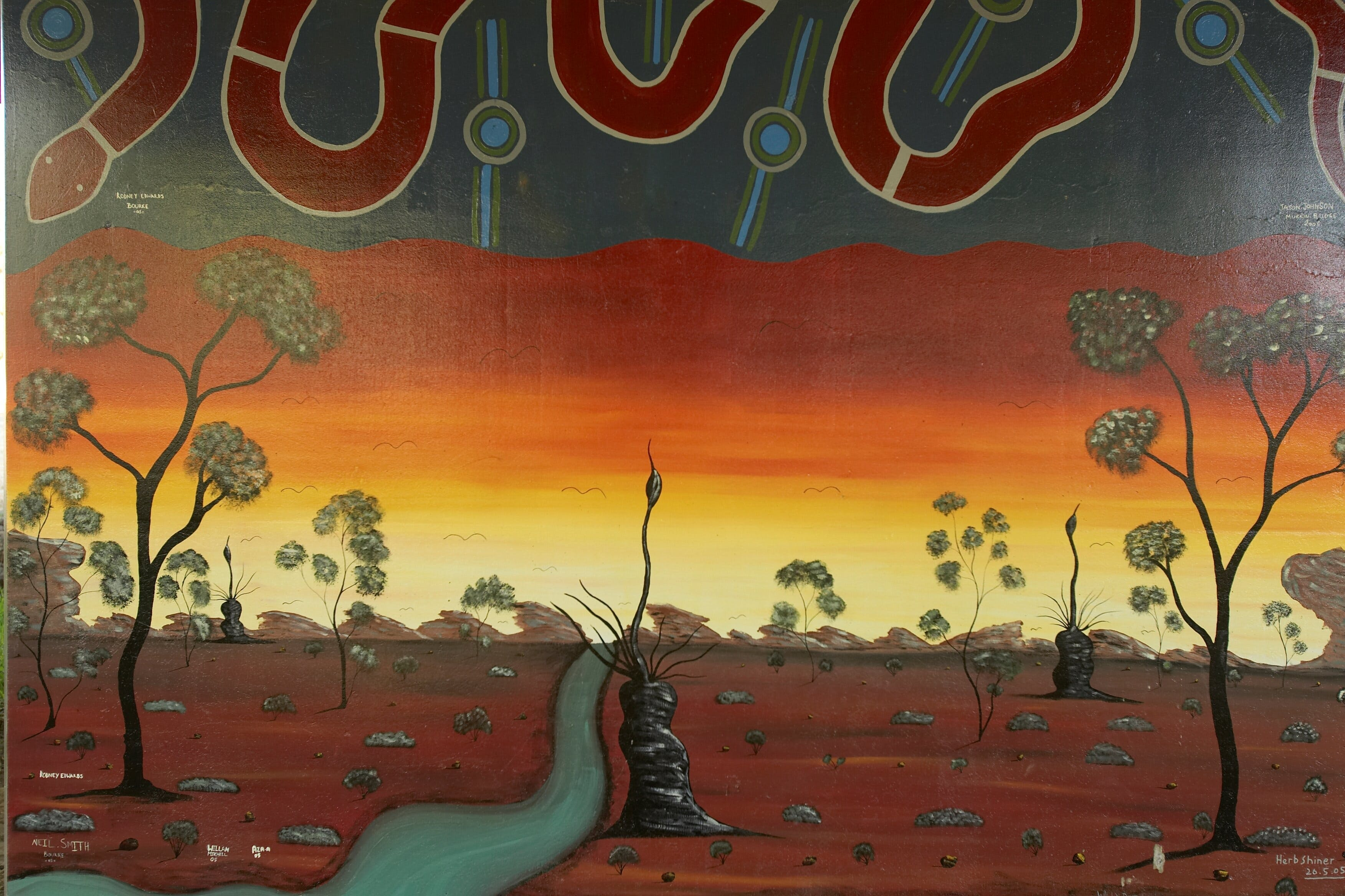 Warakirri Murals - Accommodation Gold Coast