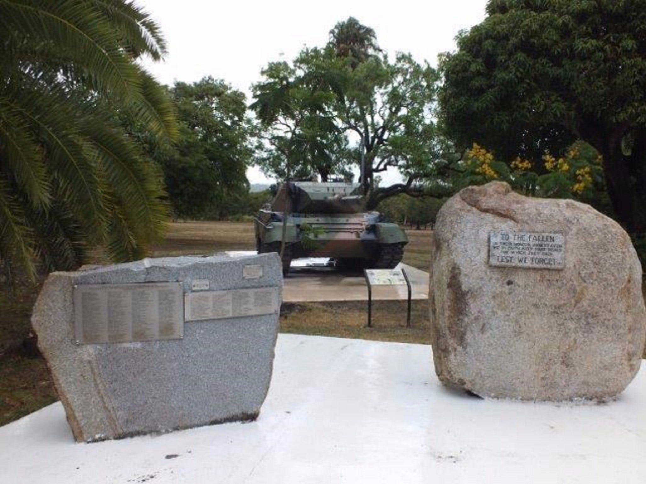 Cooktown War Memorial - Accommodation Gold Coast