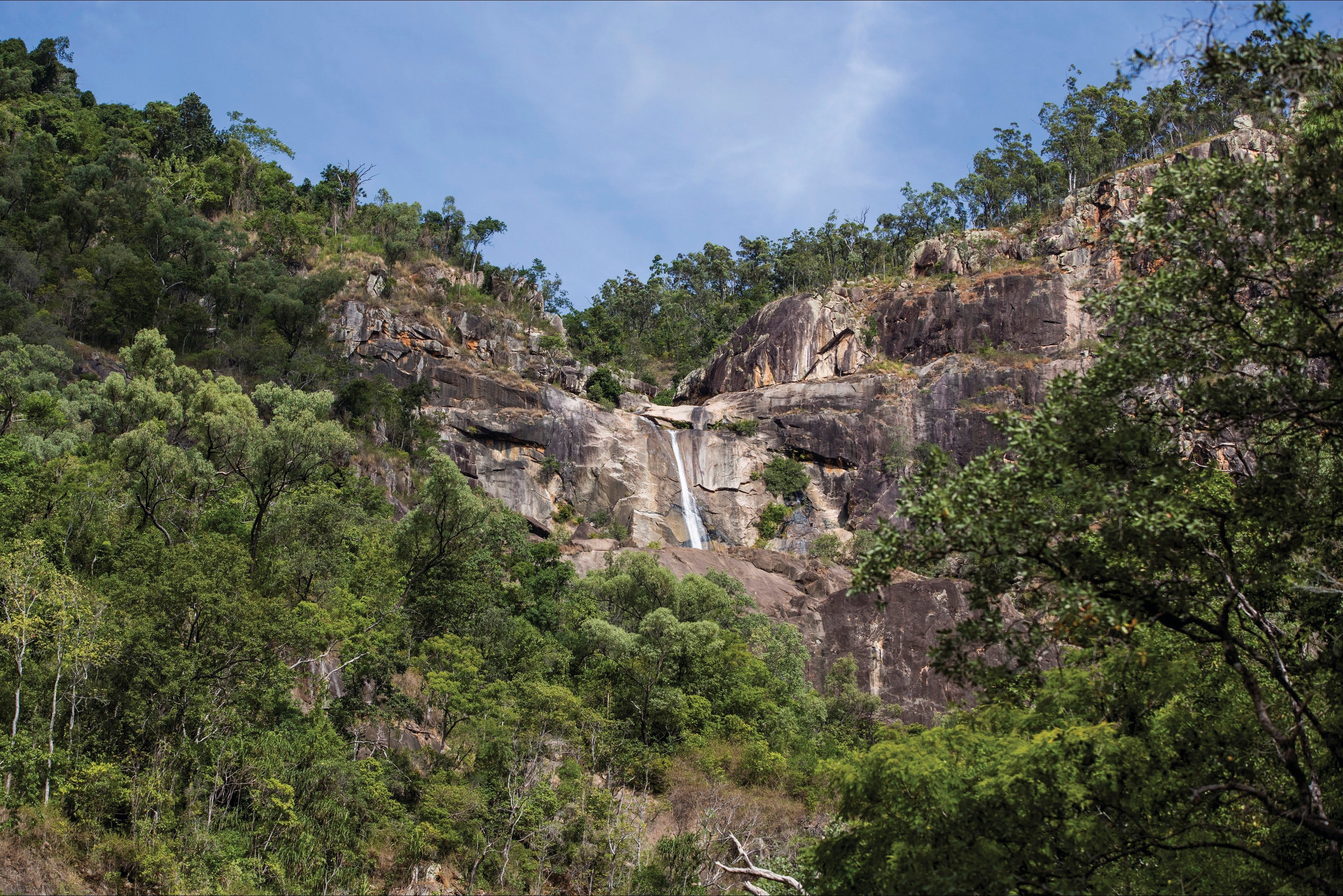Jourama Falls Paluma Range National Park - Accommodation Gold Coast