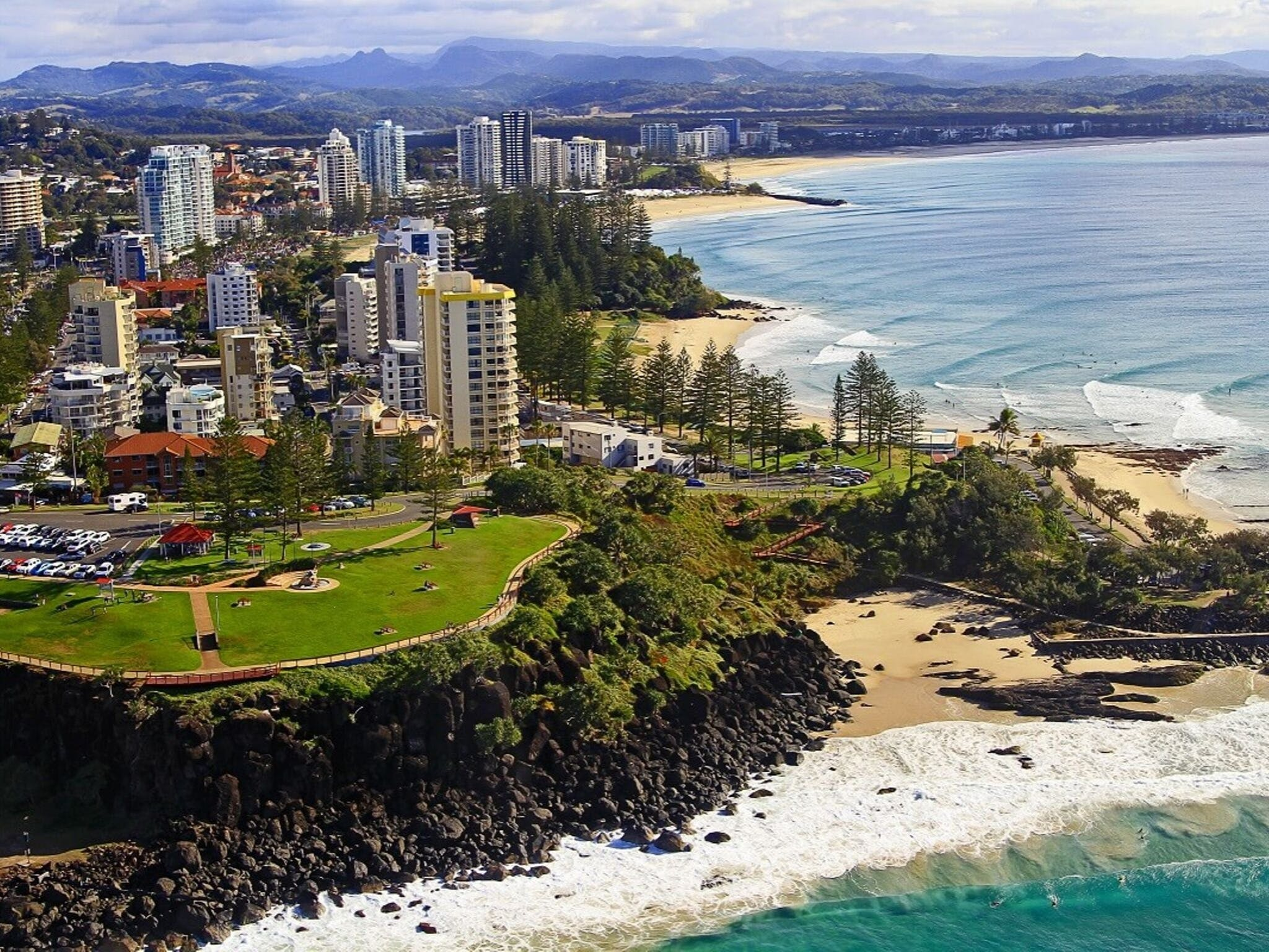 Point Danger - Accommodation Gold Coast