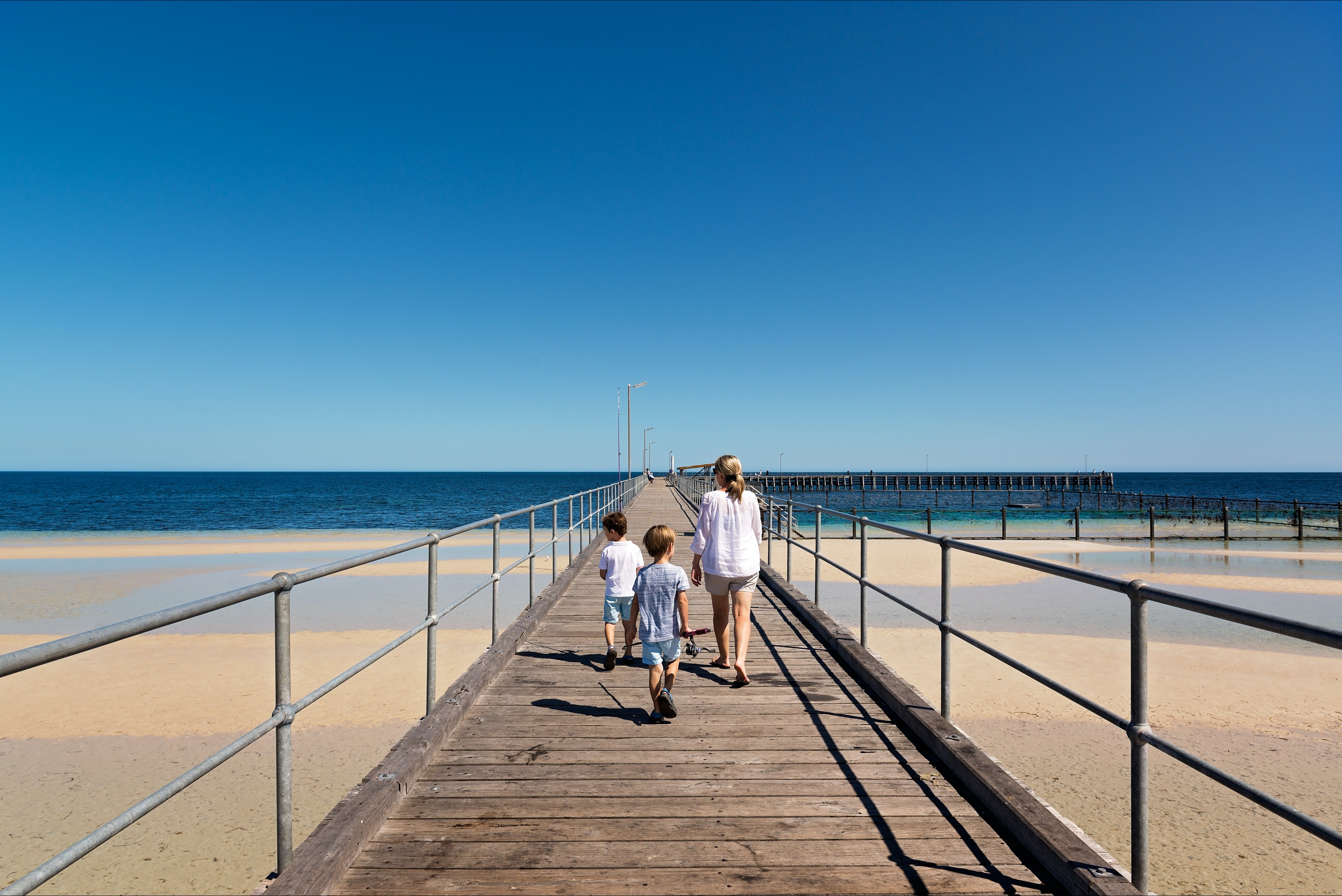 Moonta Bay Jetty - Accommodation Gold Coast