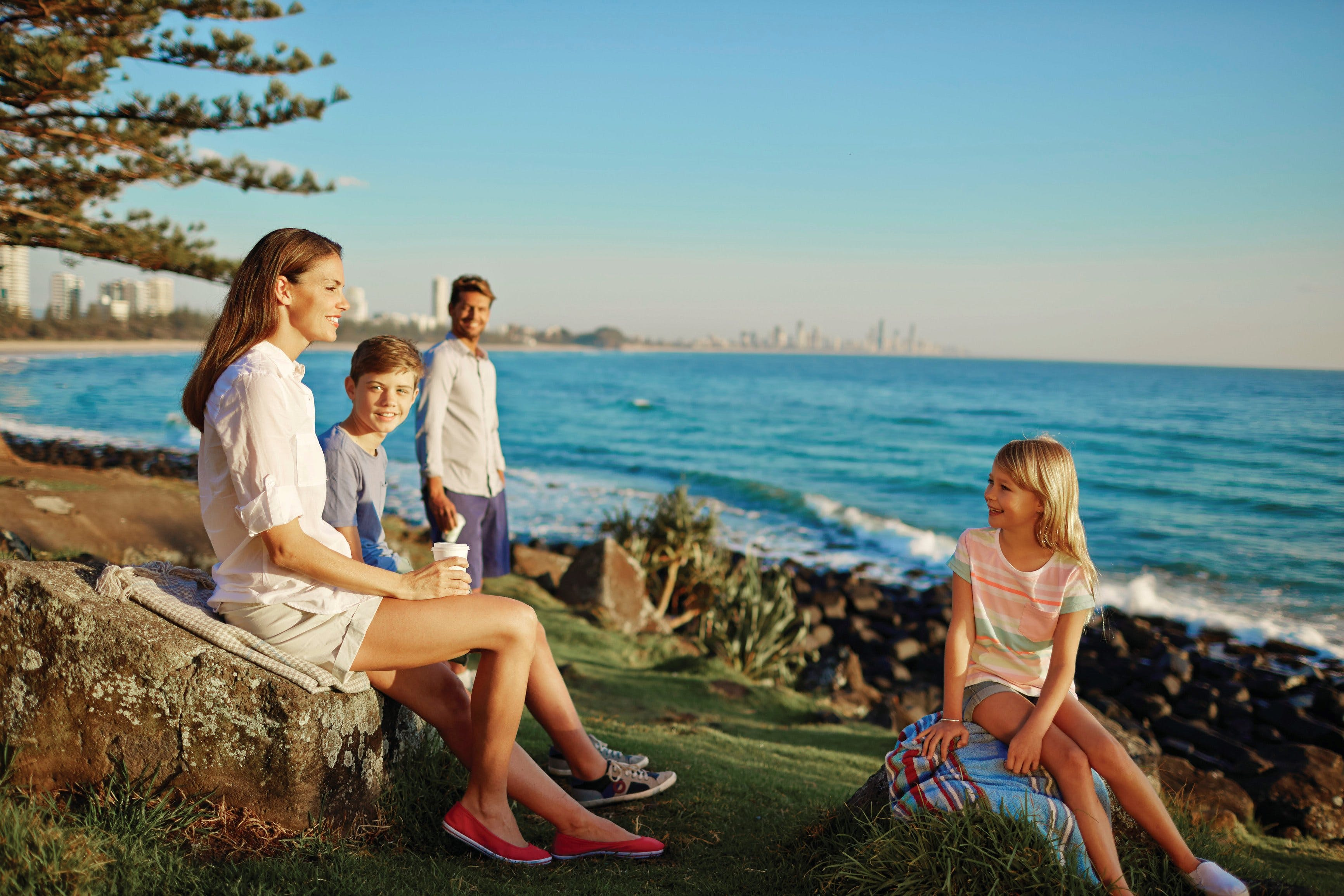 Oceanview Walk Burleigh Head National Park - Accommodation Gold Coast