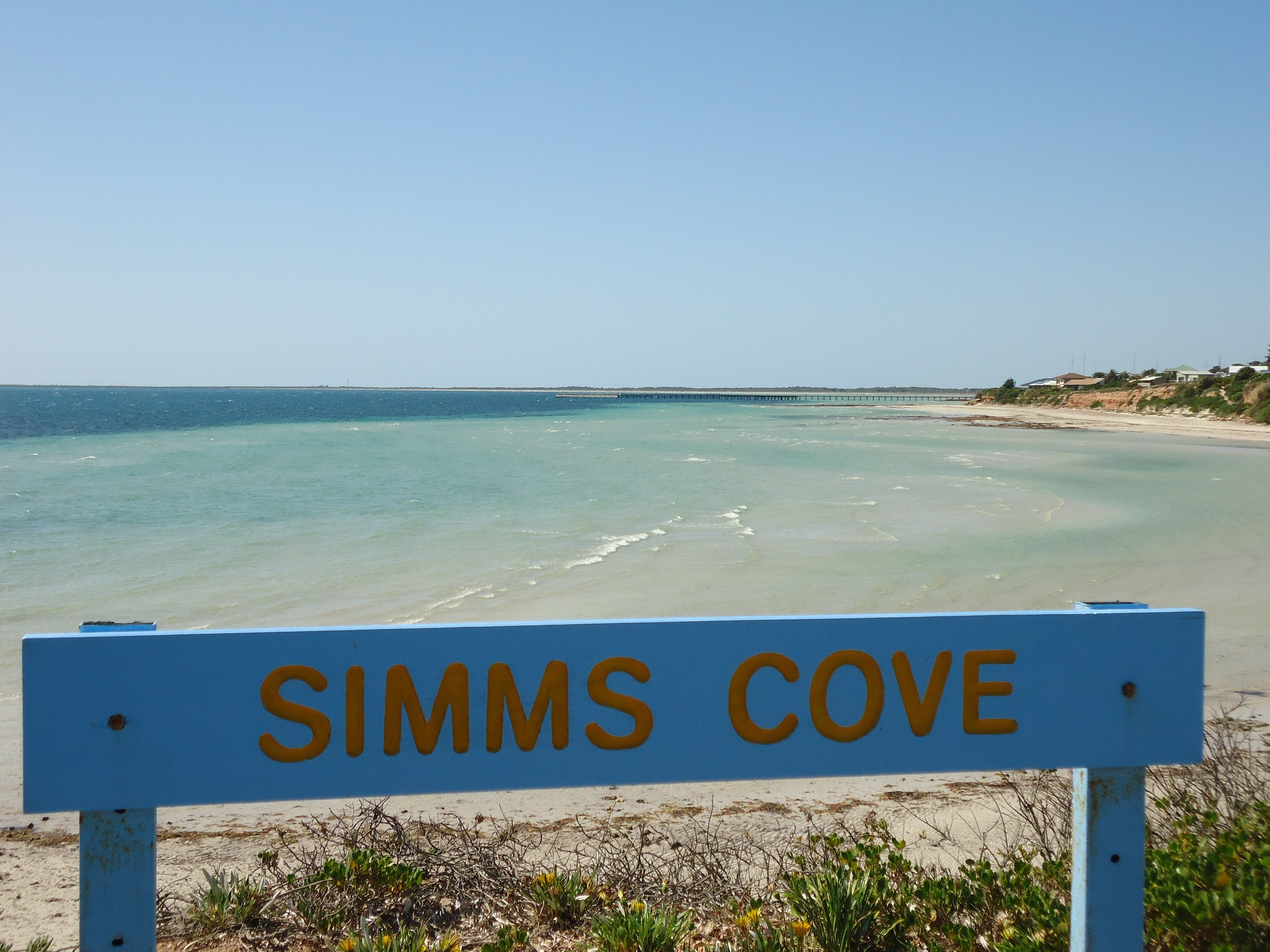 Simms Cove lookout and beach Moonta Bay - Accommodation Gold Coast