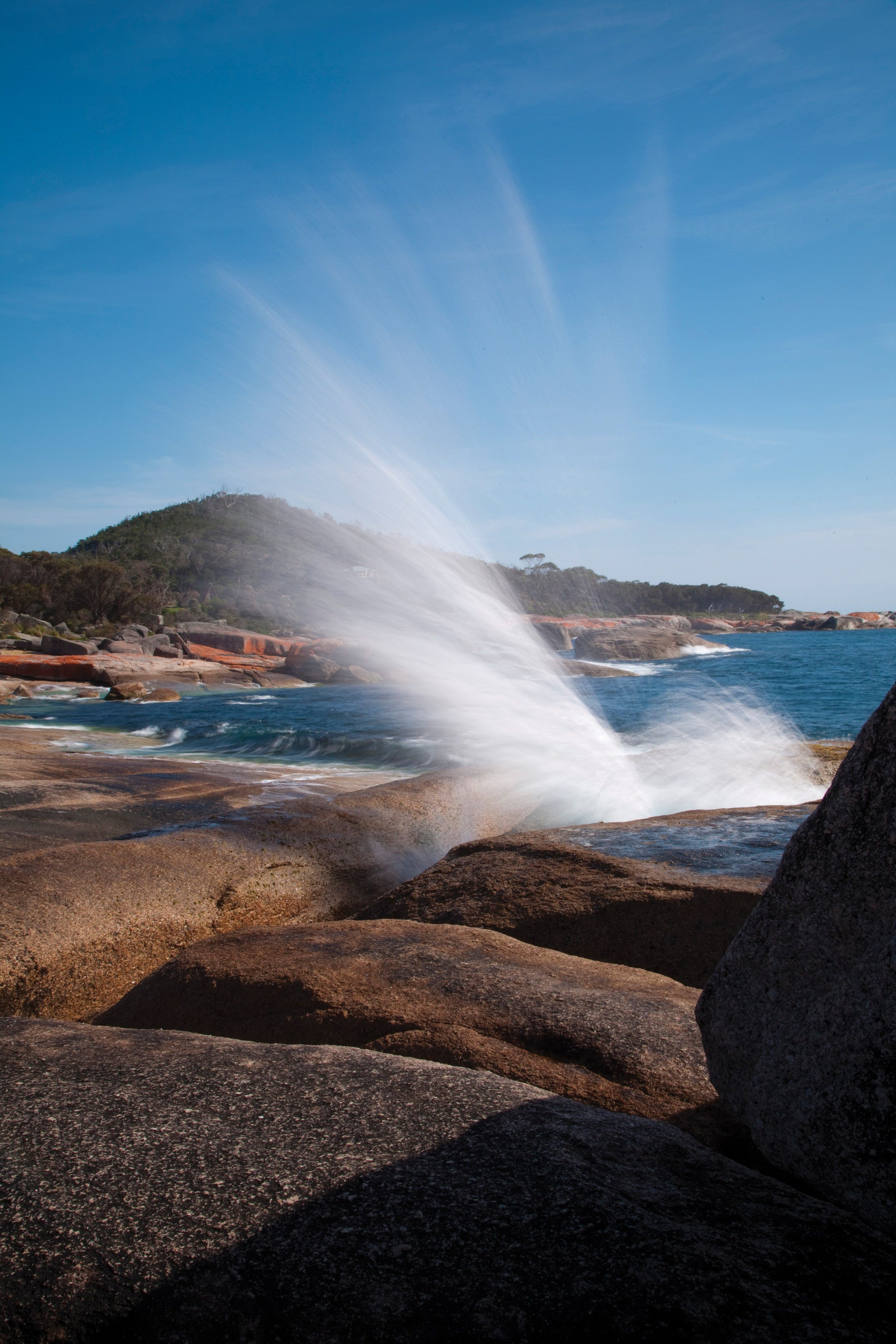 Bicheno Blowhole - Accommodation Gold Coast