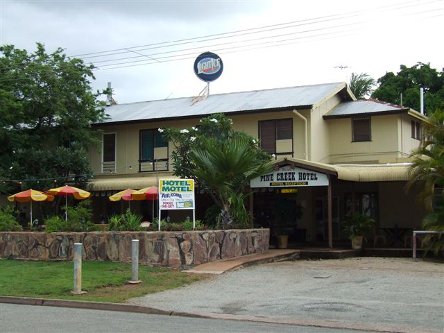 Pine Creek Hotel/Motel - Accommodation Gold Coast