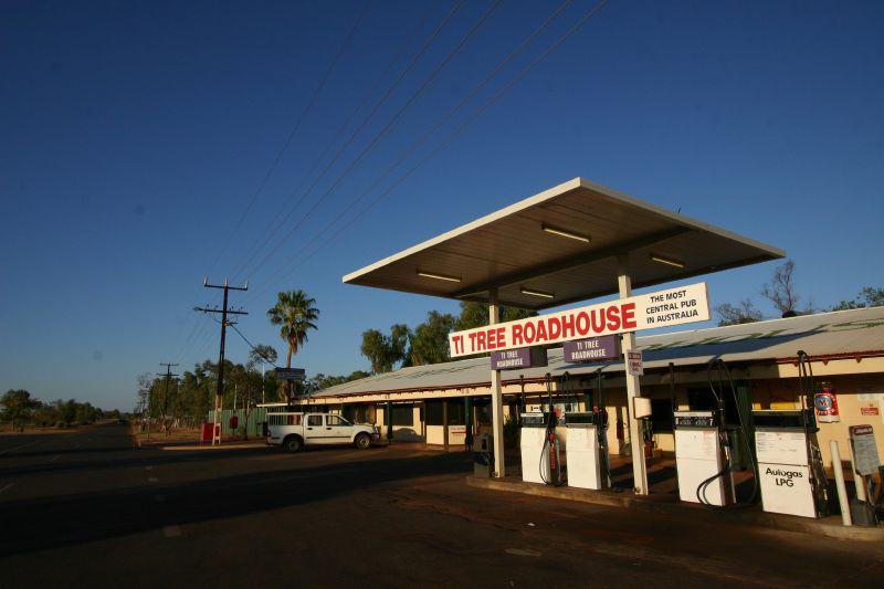 Ti Tree Roadhouse - Accommodation Gold Coast