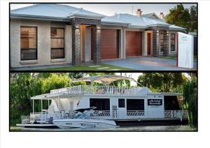Renmark River Villas and Boats  Bedzzz - Accommodation Gold Coast